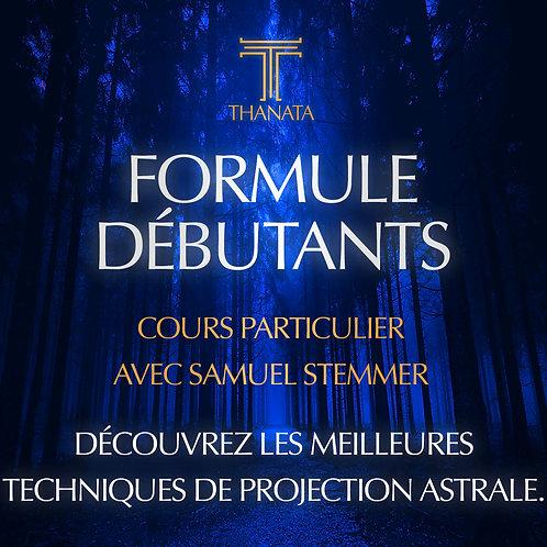 FORMULE DEBUTANTS - Cours Particulier Samuel Stemmer