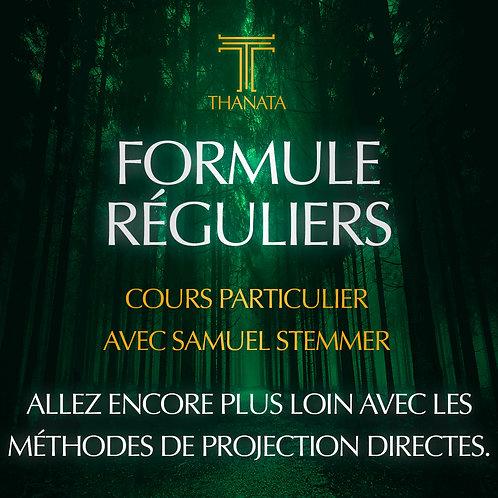 FORMULE REGULIERS - Cours Particulier Samuel Stemmer
