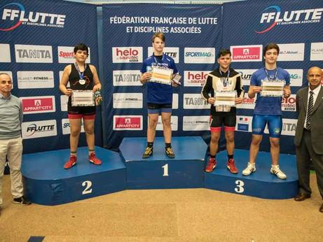 Championnats de France jeunes lutte libre 2019 : résultats