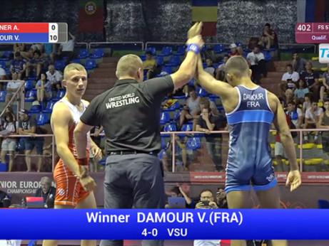 Championnats d'Europe - Les lutteurs réunionnais dans le top 10