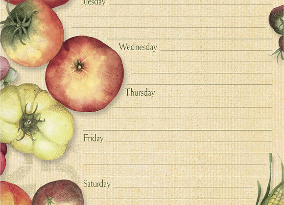 Fresh From The Farm Jumbo Weekly Planner