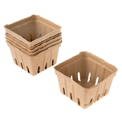 Paper Berry Baskets - Natural