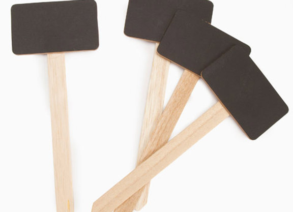 Small Chalkboard Stake Signs