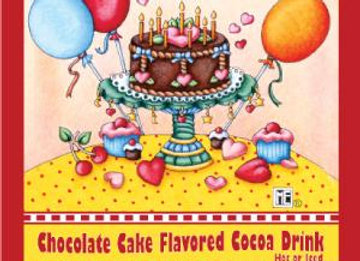 Happy Birthday - Chocolate Cake Cocoa - 1 serving
