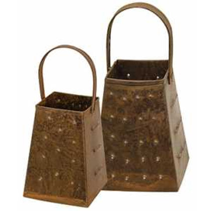 Rusty Graters - Set of 2