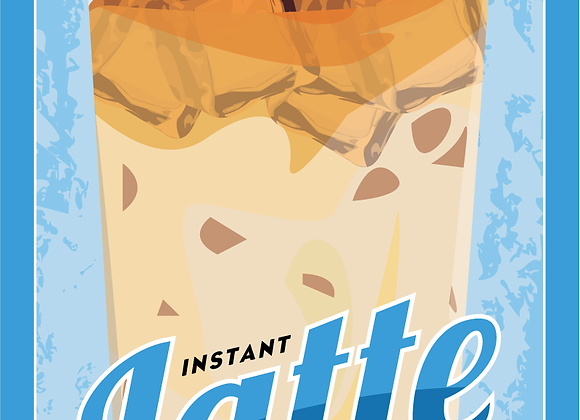 CoffeeHouse Cooler-French Vanilla Latte - 1 serving