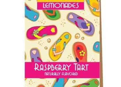 Flip Flop Raspberry Tart Lemonade - 3 serving
