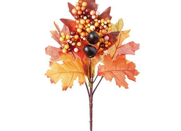 Oak Leaf Acorn Pick
