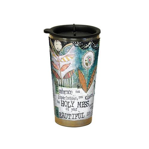Holy Mess Traveler Mug