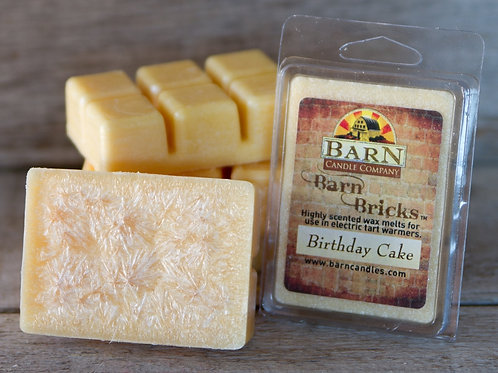Birthday Cake Wax Barn Brick