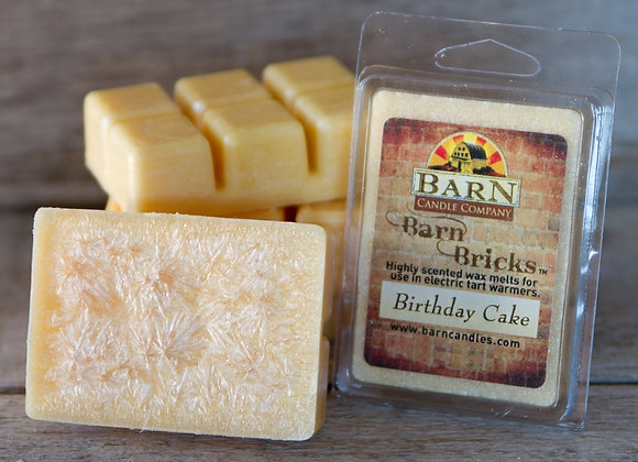Birthday Cake Wax Barn Brick