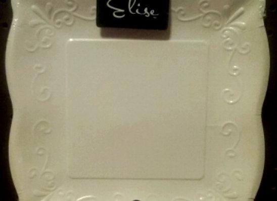 """10"""" Square Premium Paper Plates"""