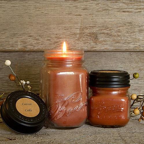 Carrot Cake Soy Blend Jar Candle 8oz.