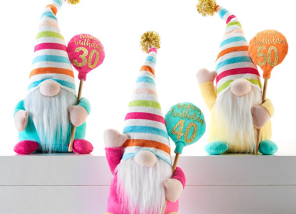 Birthday Gnomes