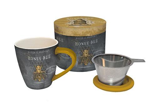 Honey Bee Tea Infusion Mug