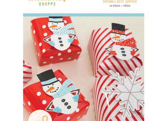 Celebration Shoppe - Favor Box KitCelebration Shoppe - - Let It Snow - 24 pieces