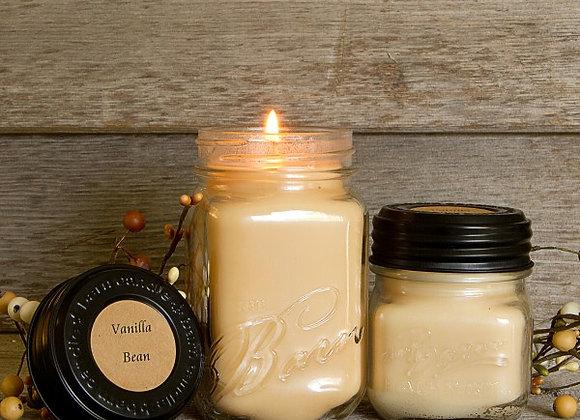 Vanilla Bean Soy Blend Jar Candle 16oz.
