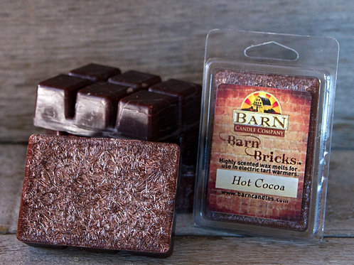 Hot Cocoa Wax Barn Brick