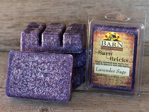 Lavender Sage Wax Barn Brick