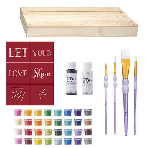 Wood Pallet Painting Kit