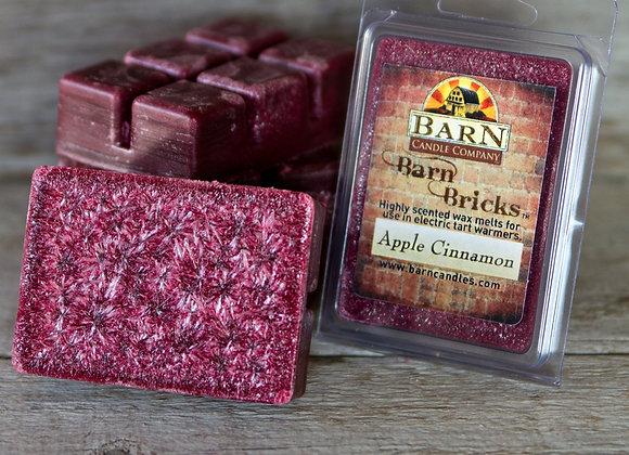 Apple Cinnamon Wax Barn Brick