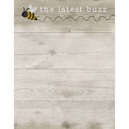 Latest Buzz Mini Magnetic Notepad