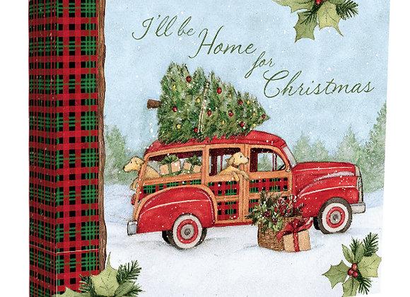 Home For Christmas Recipe Card Album
