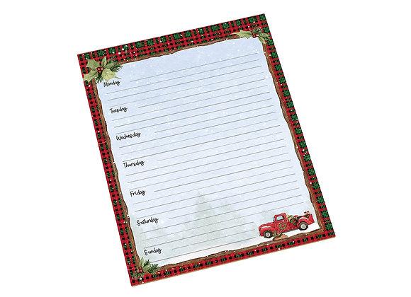 Home For Christmas Jumbo Weekly Planner
