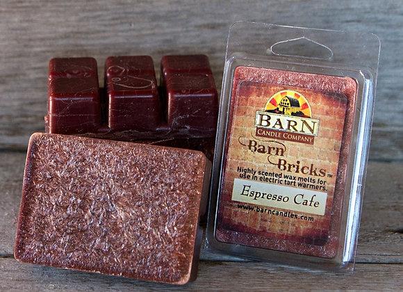Espresso Cafe Wax Barn Brick