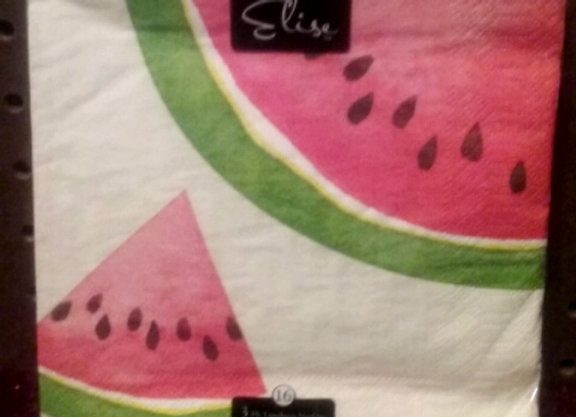 Watermelon Lunch Napkin
