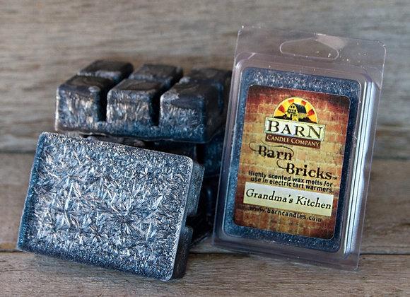 Grandma's Kitchen Wax Barn Brick