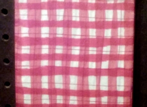 Gingham Guest Napkin