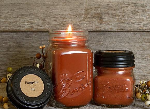Pumpkin Pie Soy Blend Jar Candle 8oz