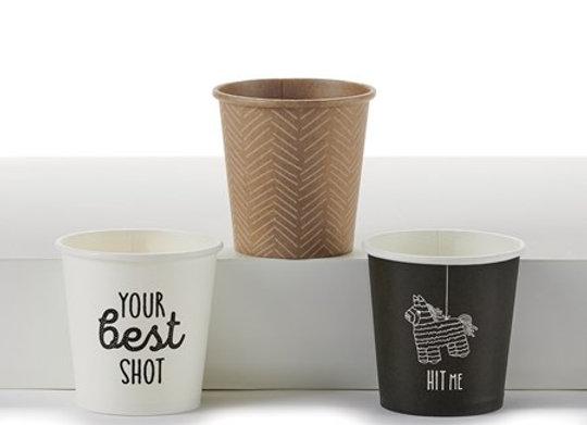Paper Shot Cups