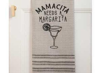 Mamacita Needs a Margarita Dish Towel