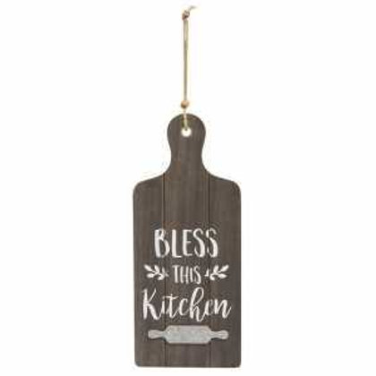 Bless This Kitchen Cutting Board Wall Hanger
