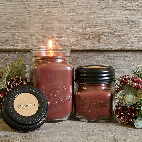 Gingersnap Soy Blend Candle 8oz.