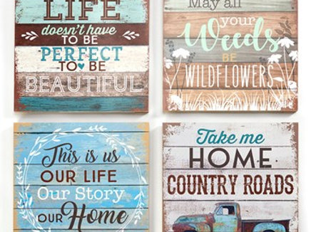 Rustic Wall Signs