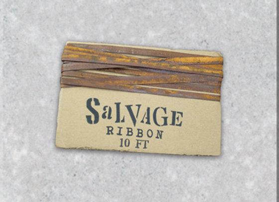 "Rusty 1/4"" Salvage Ribbon"