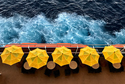 Cruise Ship Umbrellas