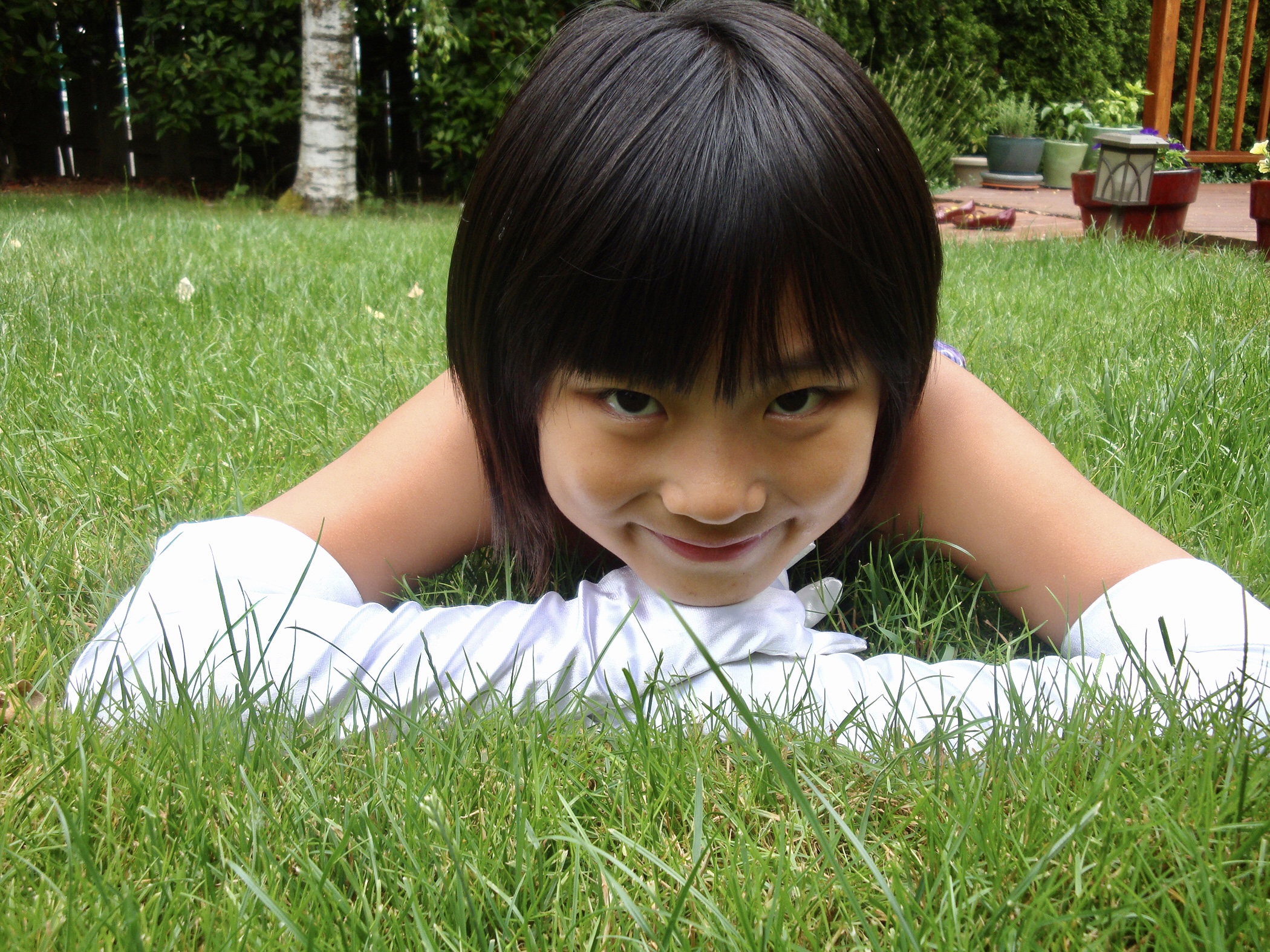 Sydney In The Grass
