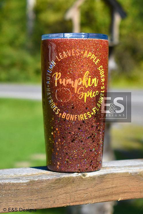 Pumpkin Spice Tumbler