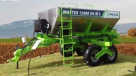 Distribuidor de adubo Master 12000 é destaque da Piccin durante a 40ª Expointer