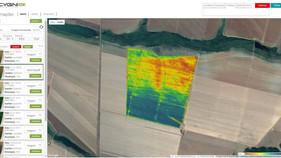 Produtorreduz custos com imagensde satélitee aplicação de nematicidas direto no sulco