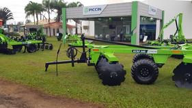 Piccin marca presença na AgroBrasília 2019