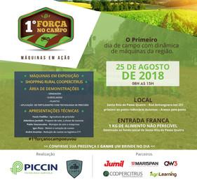 1ºForça no Campo leva informação e novas tecnologias aos produtores do interior paulista
