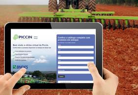 Piccin lança vitrine virtual de produtos à pronta entrega