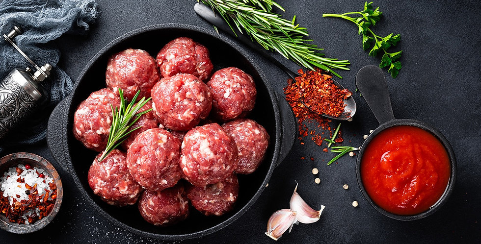 Prime Beef Meatballs (pack of 16)