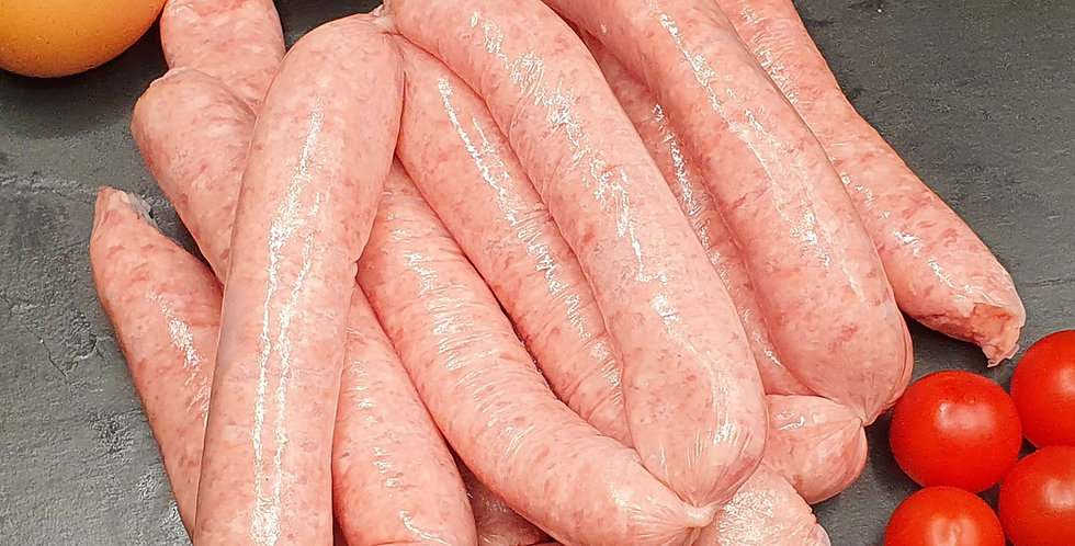 Premium Lean  Instore Made Hand Linked Sausages