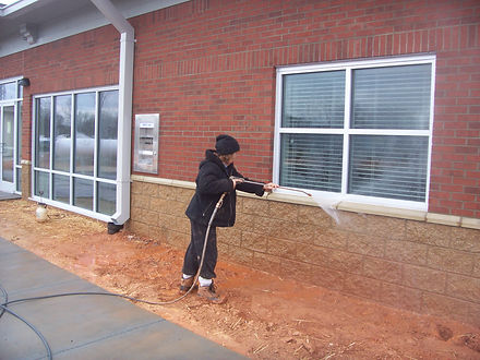 brooks pressure washing Brick cleaning Lexington NC
